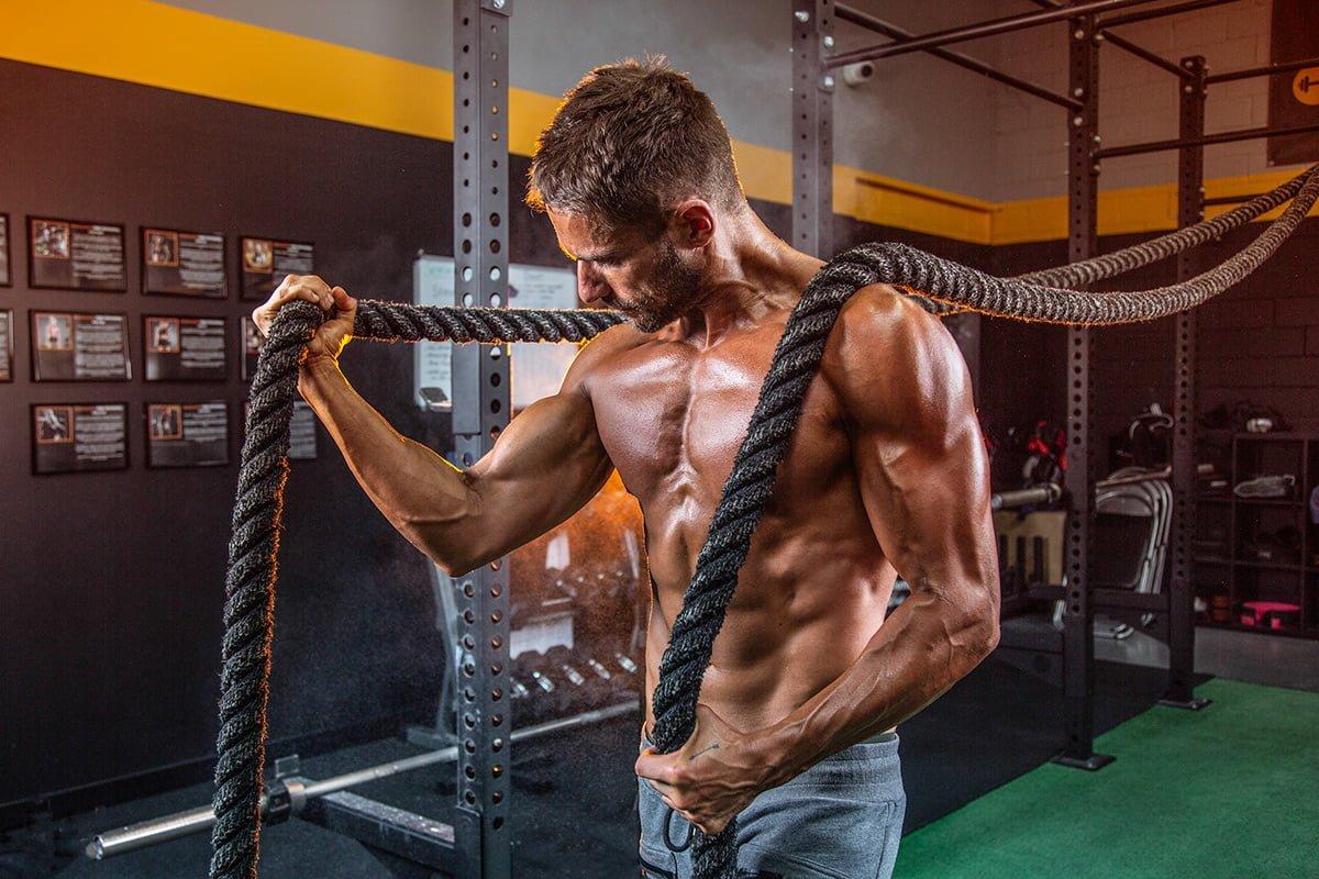 Coach Brenton Photoshoot Ropes