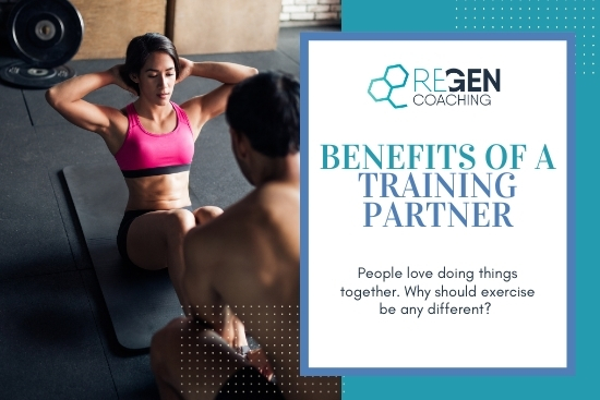 Benefits of a training partner