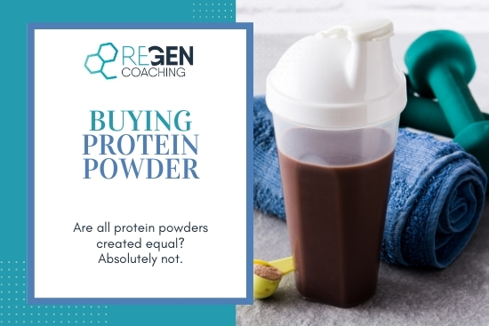 What to look for when buying protein powder