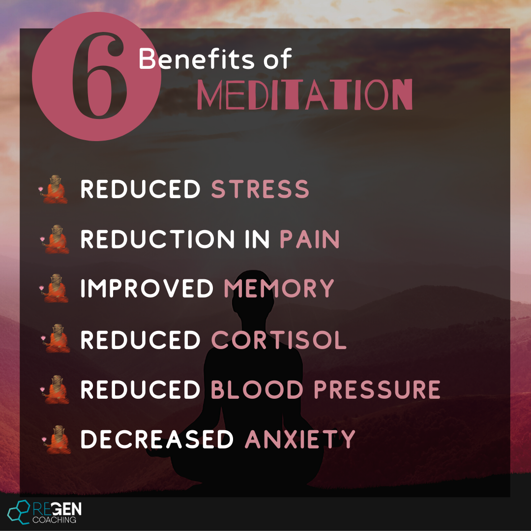 Insta - 6 Benefits of meditation