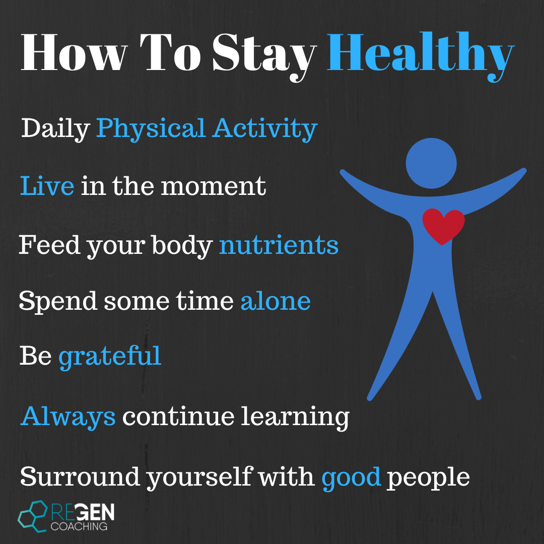 Insta - How to stay healthy