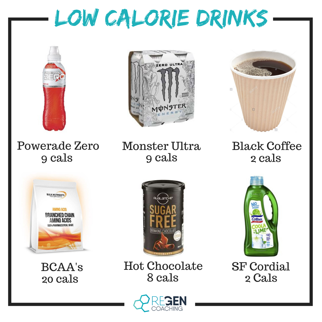 Insta - Low Calorie Drinks