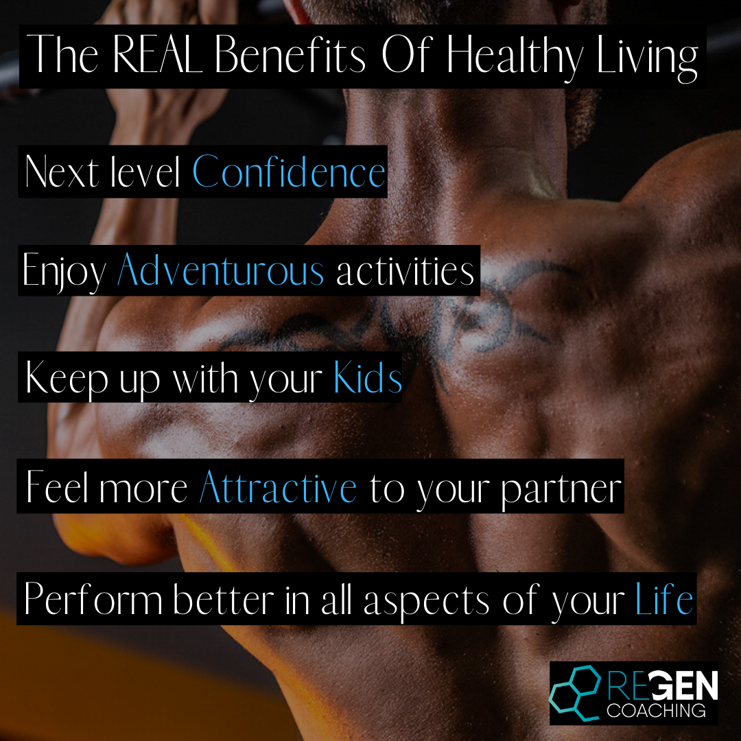 Insta - The REAL benefits of healthy living