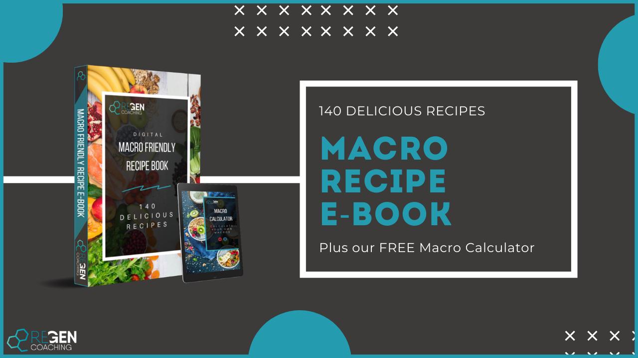 Macro Friendly Recipe E-Book Plus Free Macros Calculator