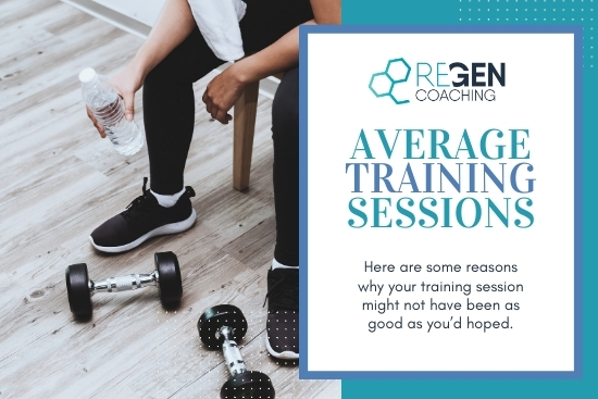 Having Average Training Sessions?