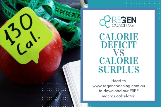 Calorie Deficit Vs Calorie Surplus