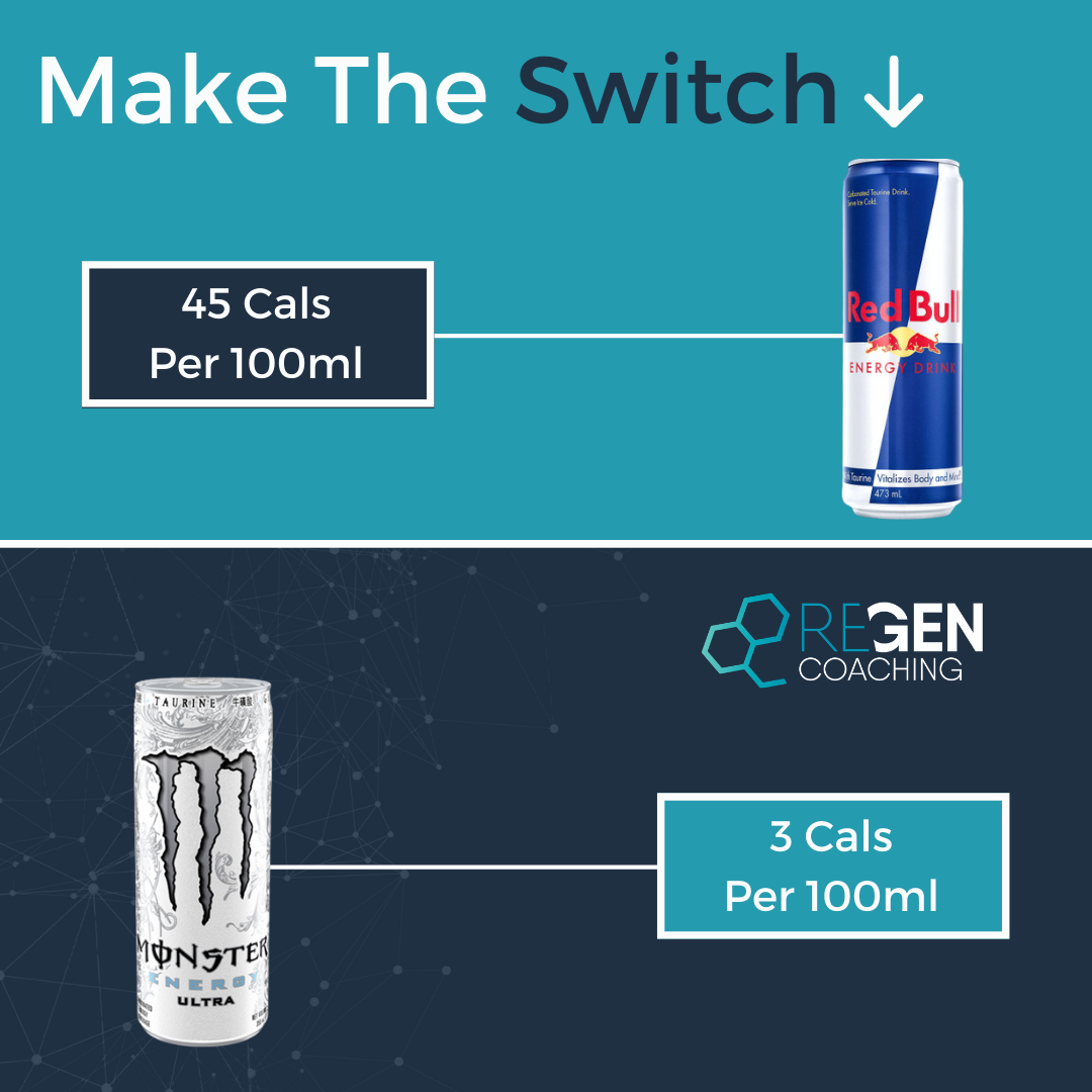Make The Switch - Energy Drinks